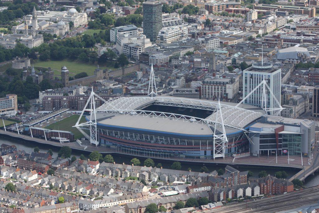 08.07.09 - Aerial Views - Millennium Stadium, Cardiff ©Huw Evans Agency, Cardiff